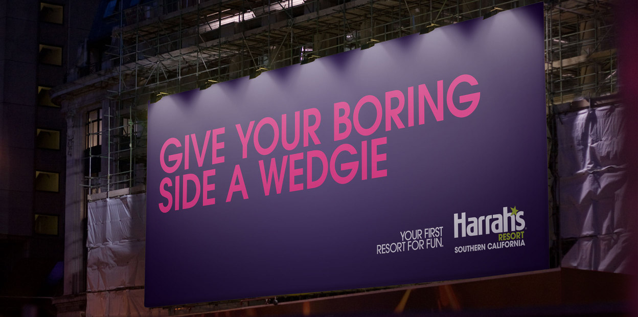 Give Your Boring Side A Wedgie