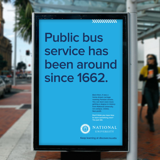Public bus service has been around since 1662.